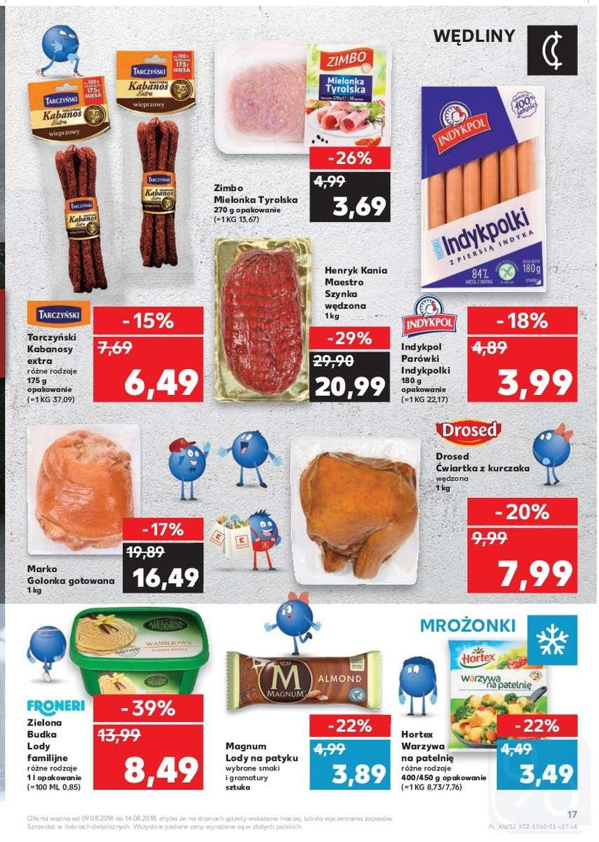 Gazetka promocyjna Kaufland do 15/08/2018 str.17