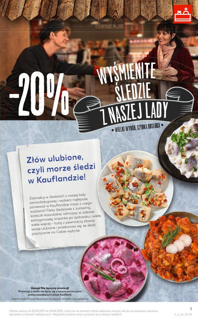Gazetka promocyjna Kaufland do 24/04/2019 str.3