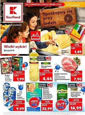 Kaufland gazetka - od 23/08/2018 do 29/08/2018