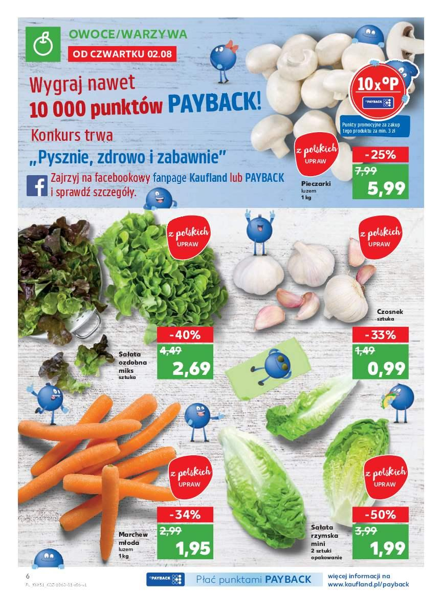 Gazetka promocyjna Kaufland do 08/08/2018 str.6