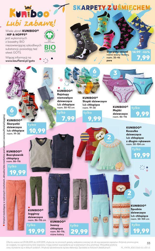 Gazetka promocyjna Kaufland do 04/09/2019 str.33