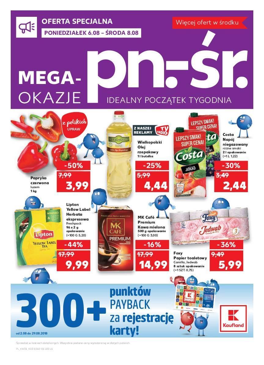 Gazetka promocyjna Kaufland do 11/08/2018 str.3