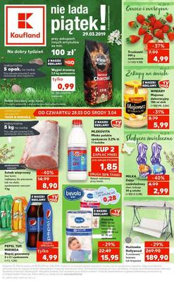 Kaufland gazetka - od 28/03/2019 do 03/04/2019