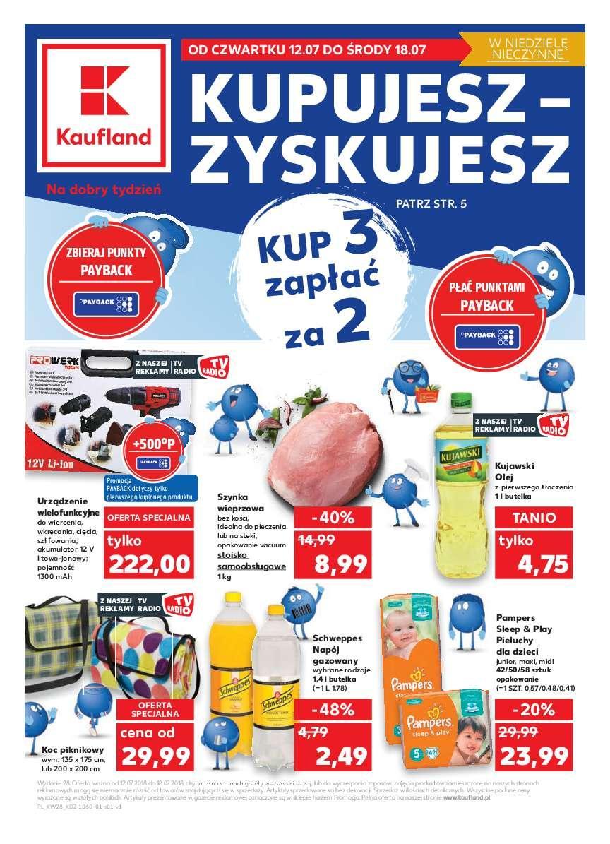 Gazetka promocyjna Kaufland do 18/07/2018 str.1