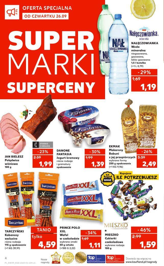 Gazetka promocyjna Kaufland do 02/10/2019 str.3