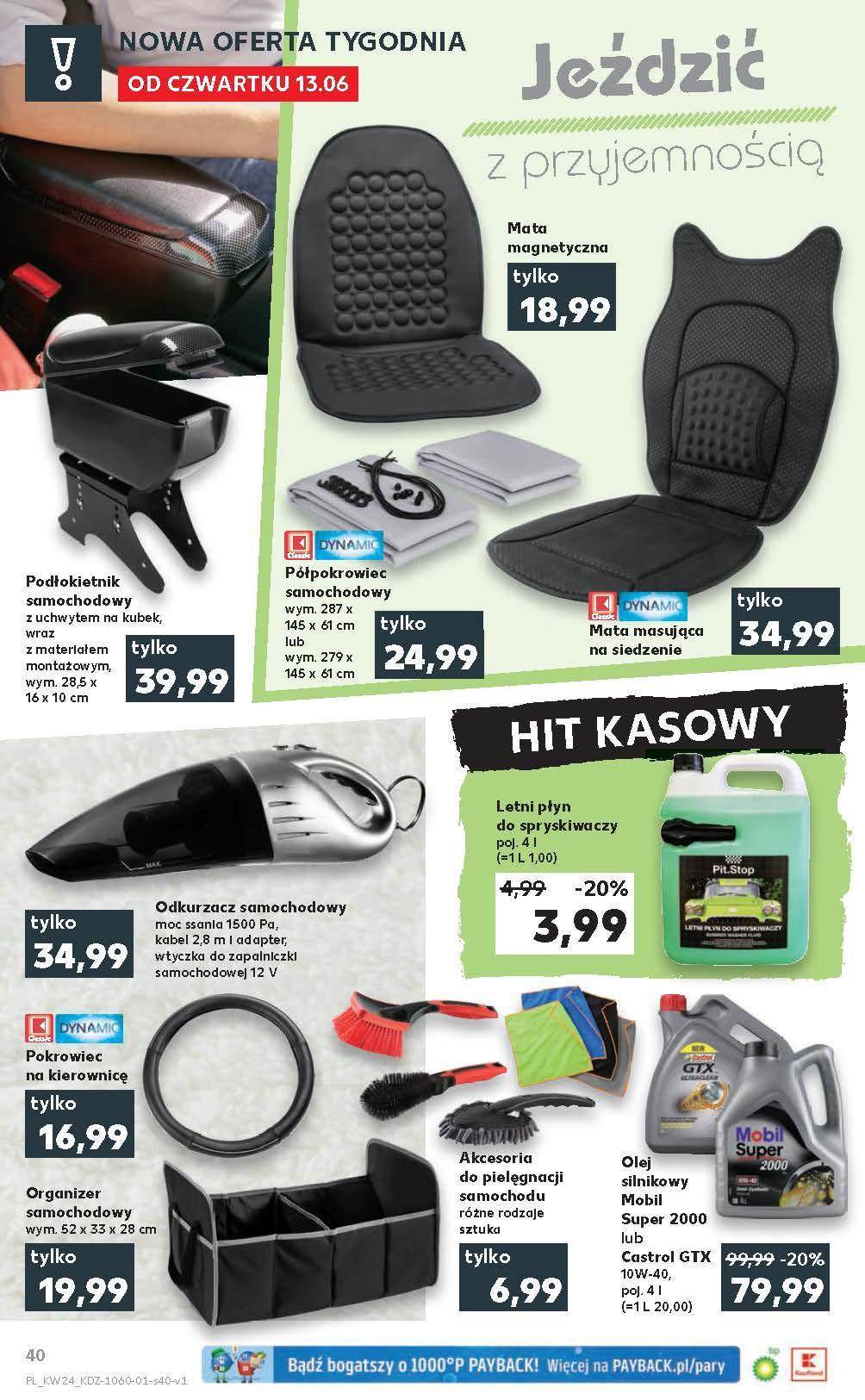 Gazetka promocyjna Kaufland do 19/06/2019 str.40