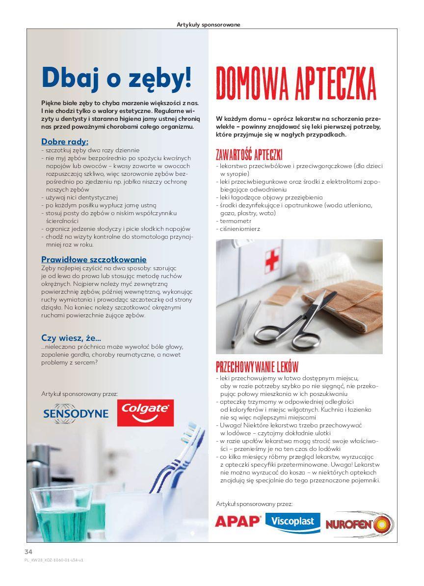 Gazetka promocyjna Kaufland do 18/07/2018 str.34