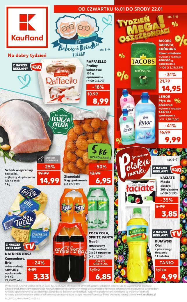 Gazetka promocyjna Kaufland do 22/01/2020 str.1