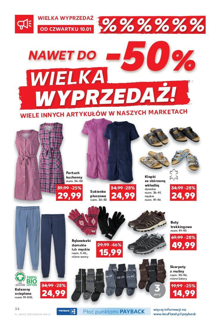 Gazetka promocyjna Kaufland do 16/01/2019 str.34