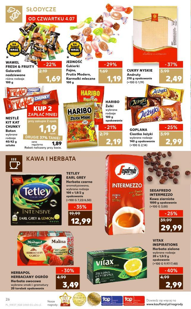 Gazetka promocyjna Kaufland do 10/07/2019 str.25