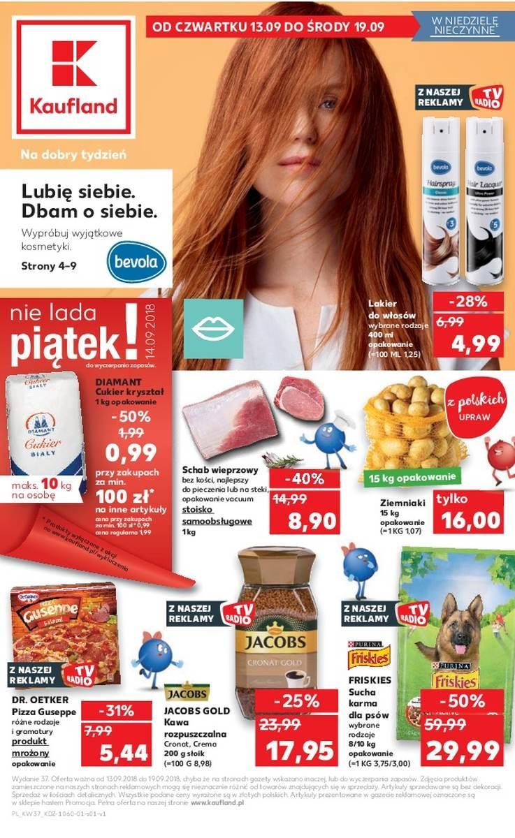 Gazetka promocyjna Kaufland do 19/09/2018 str.1