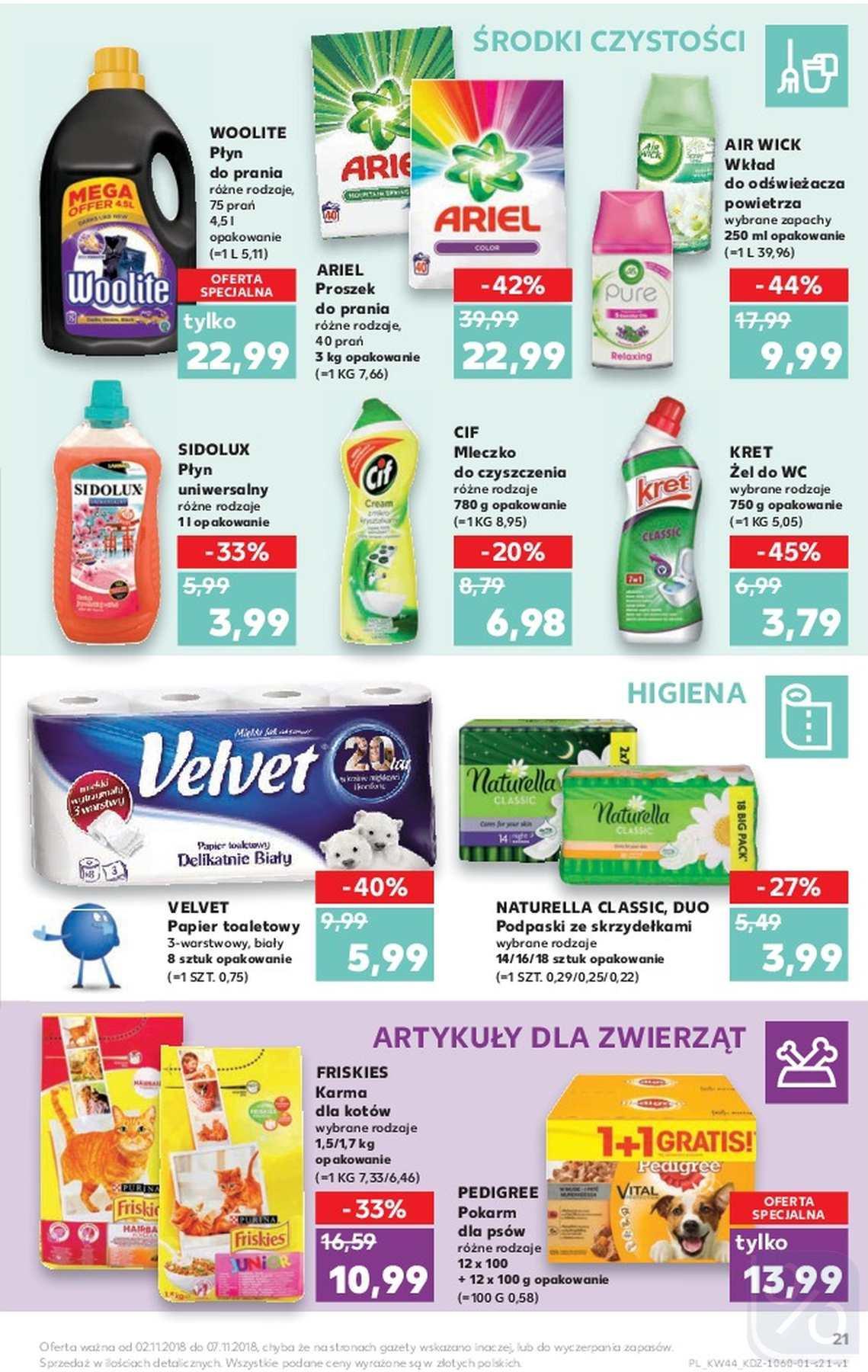 Gazetka promocyjna Kaufland do 07/11/2018 str.21