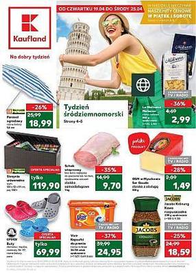 Kaufland gazetka - od 19/04/2018 do 25/04/2018