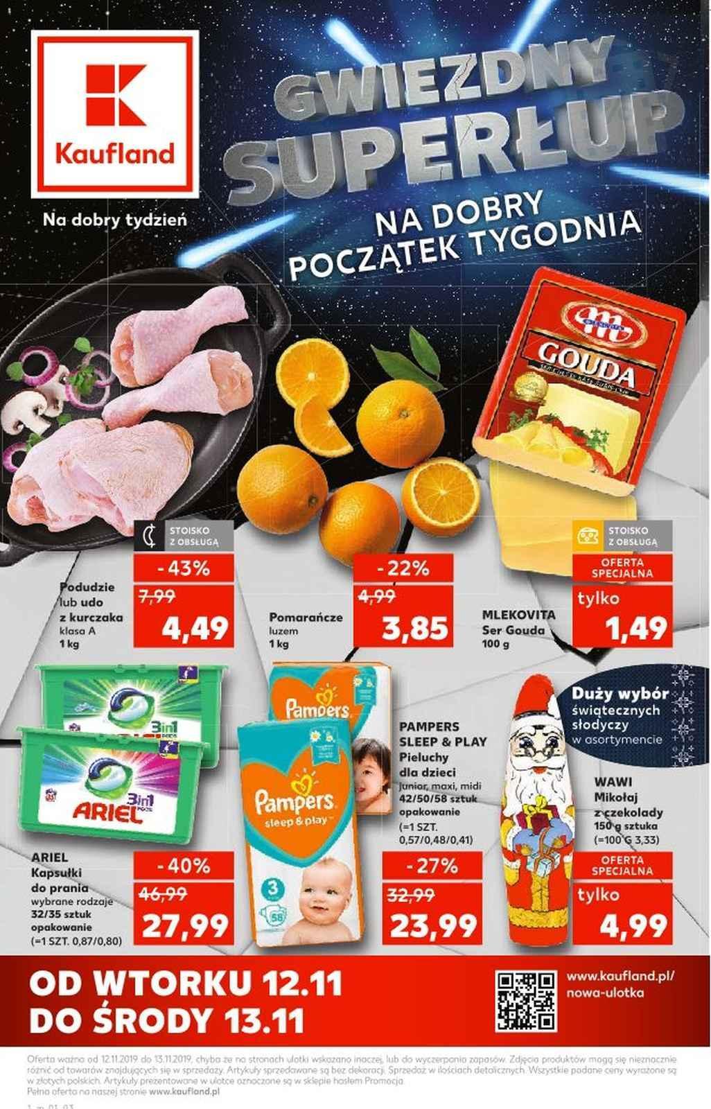 Gazetka promocyjna Kaufland do 13/11/2019 str.1