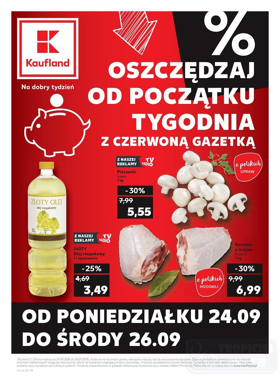 Gazetka promocyjna Kaufland do 26/09/2018 str.0