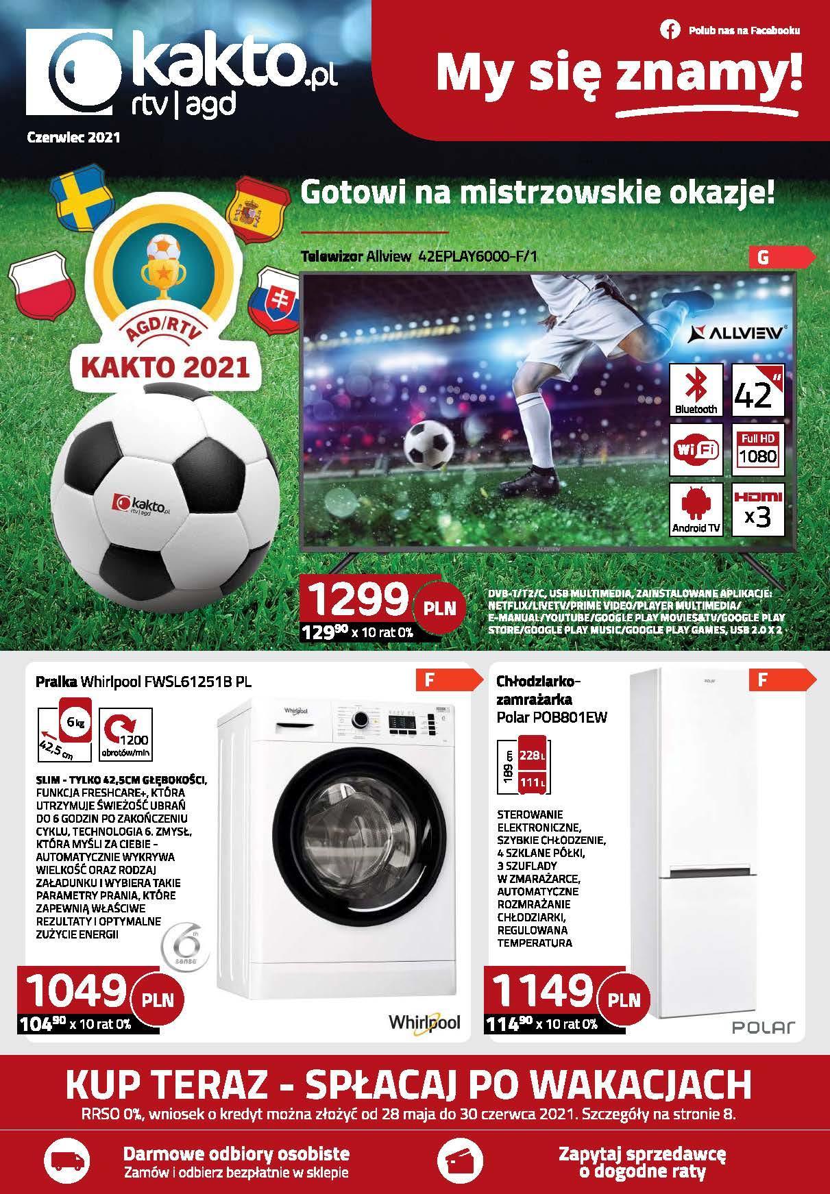Gazetka promocyjna Kakto.pl do 30/06/2021 str.1