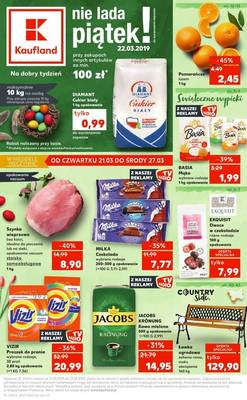 Kaufland gazetka - od 21/03/2019 do 27/03/2019