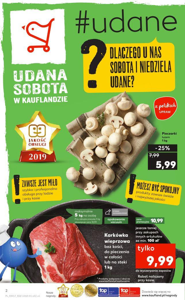 Gazetka promocyjna Kaufland do 30/04/2019 str.2