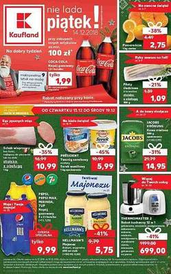 Kaufland gazetka - od 13/12/2018 do 19/12/2018
