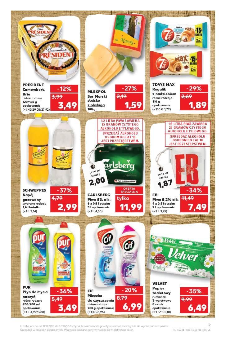 Gazetka promocyjna Kaufland do 17/10/2018 str.5