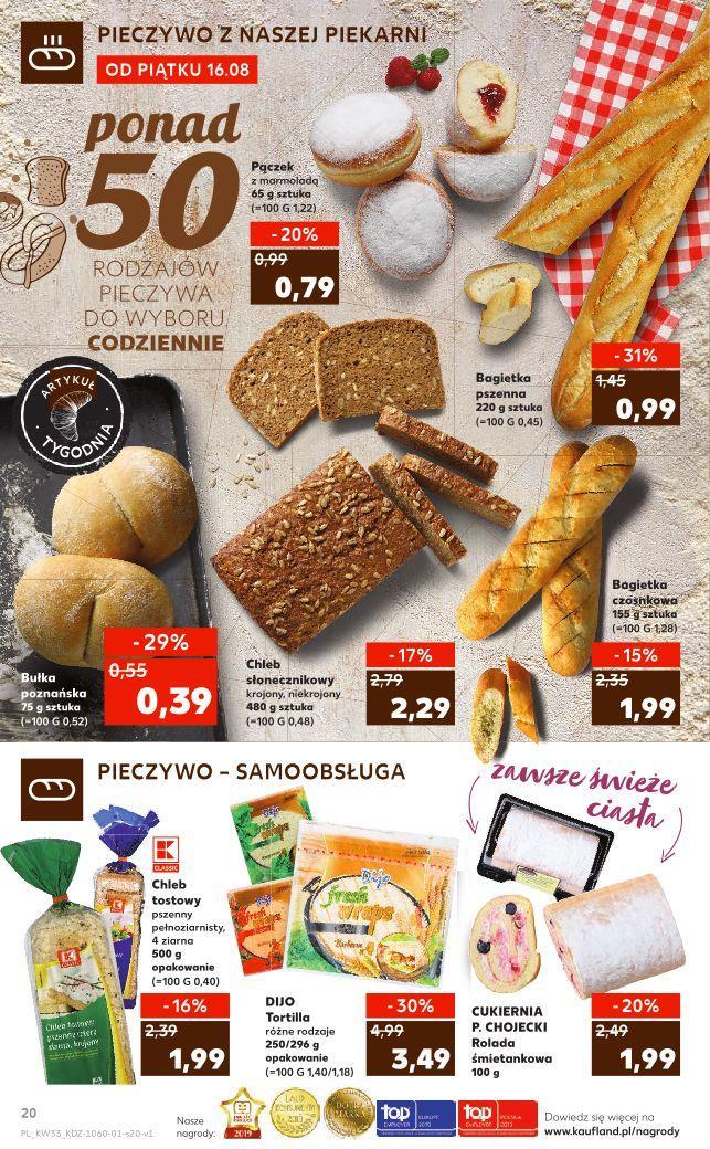 Gazetka promocyjna Kaufland do 21/08/2019 str.20