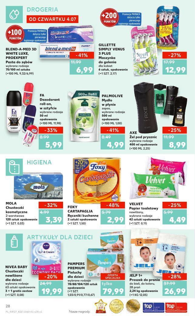 Gazetka promocyjna Kaufland do 10/07/2019 str.27