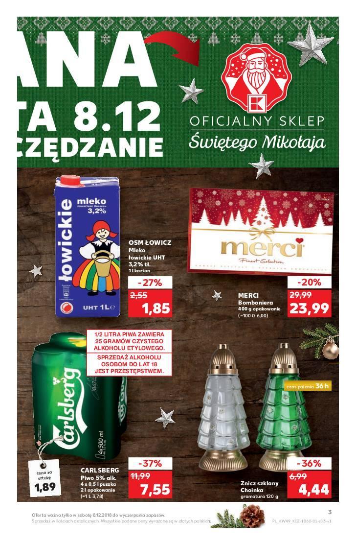 Gazetka promocyjna Kaufland do 12/12/2018 str.3