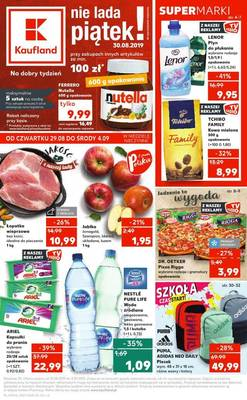 Kaufland gazetka - od 29/08/2019 do 04/09/2019