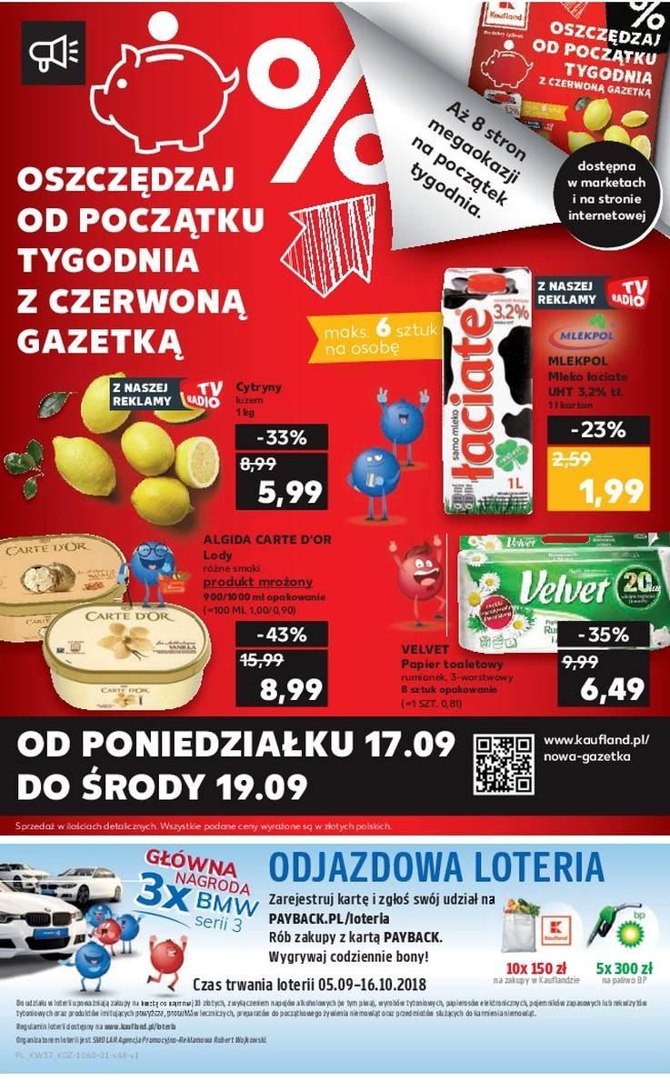 Gazetka promocyjna Kaufland do 19/09/2018 str.48