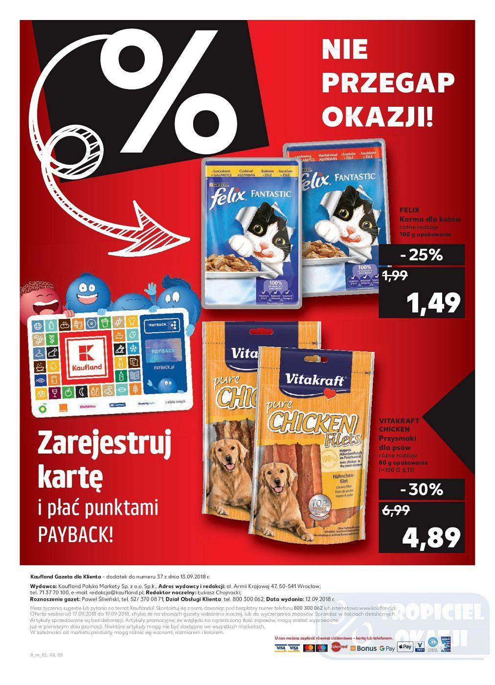 Gazetka promocyjna Kaufland do 19/09/2018 str.8