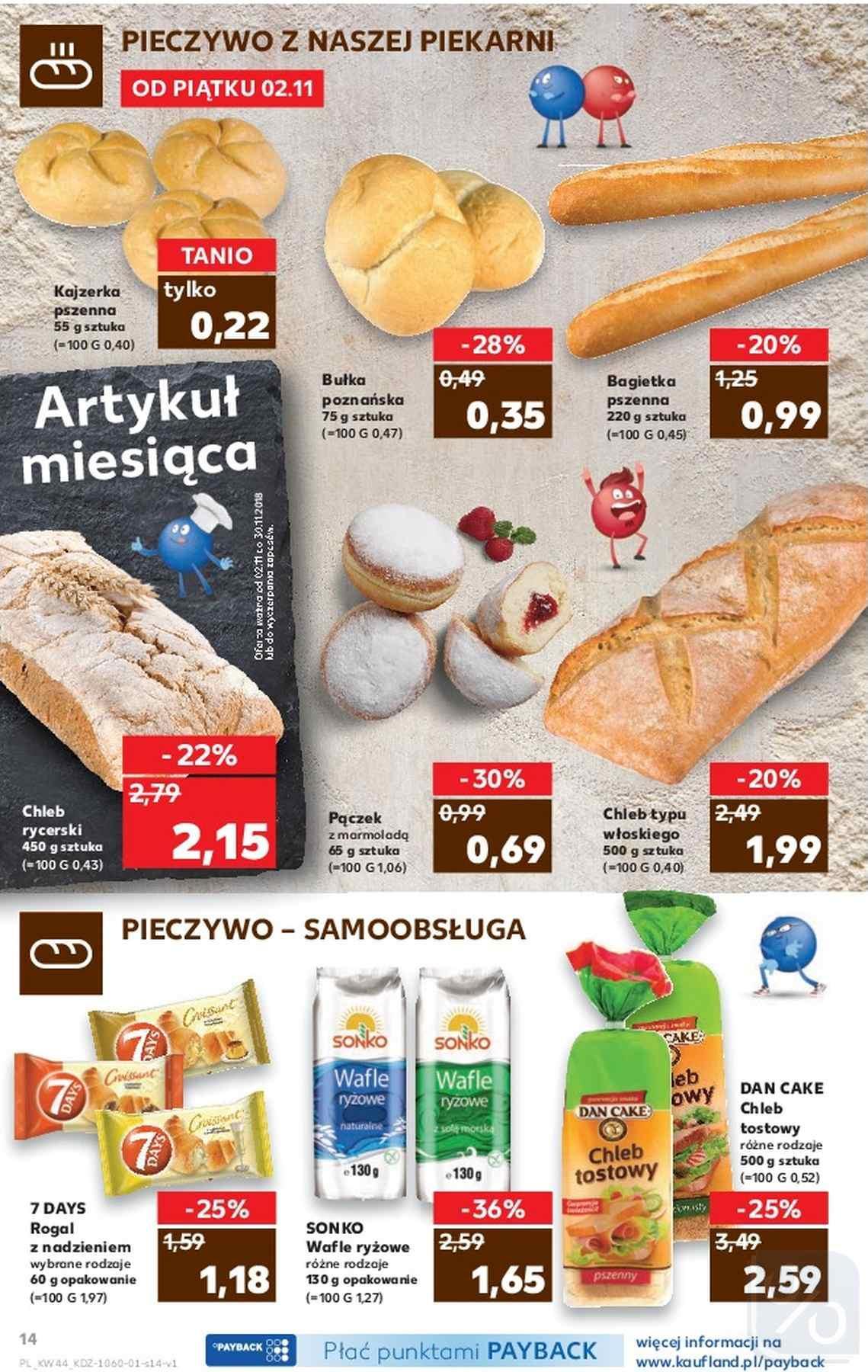 Gazetka promocyjna Kaufland do 07/11/2018 str.14
