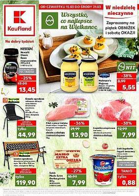Kaufland gazetka - od 15/03/2018 do 21/03/2018