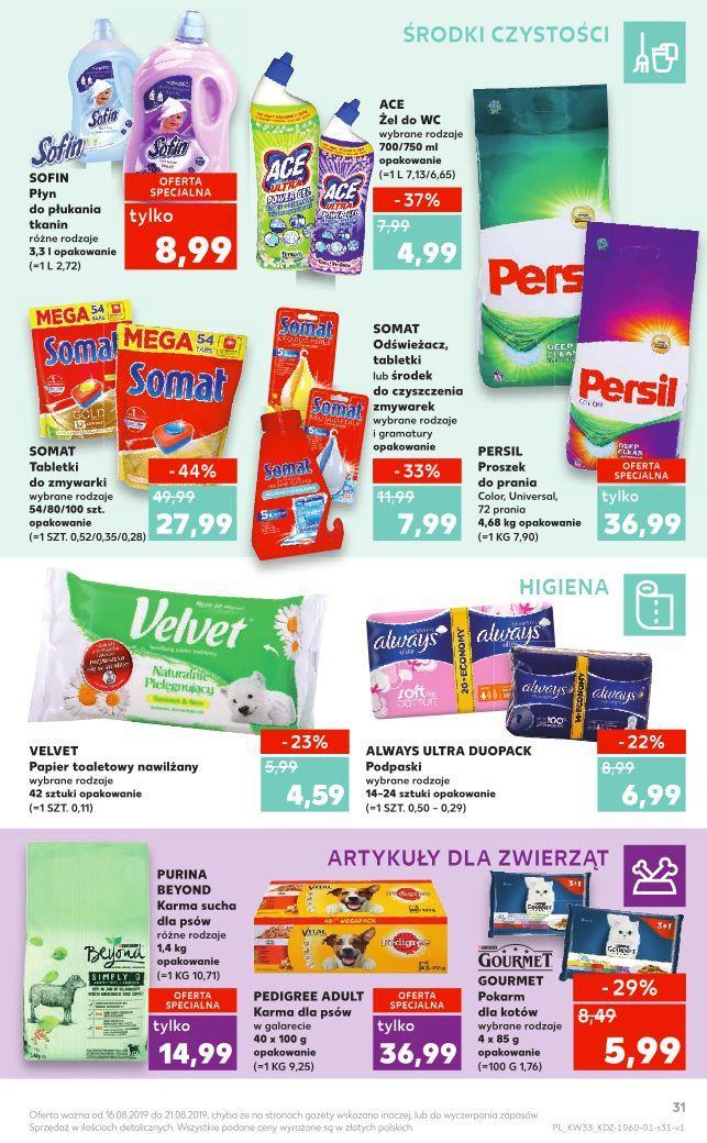 Gazetka promocyjna Kaufland do 21/08/2019 str.30