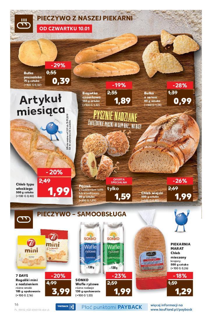 Gazetka promocyjna Kaufland do 16/01/2019 str.16