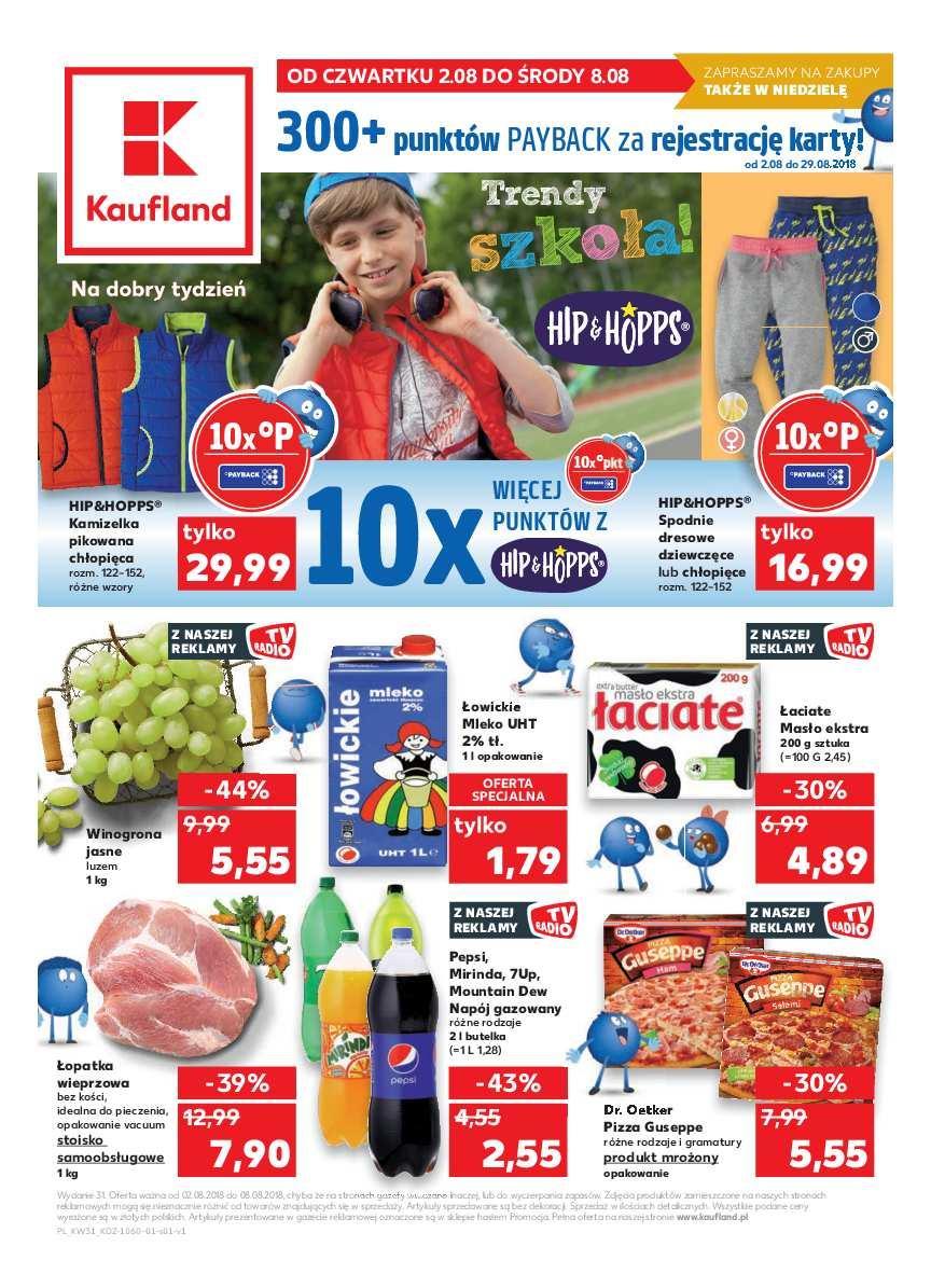 Gazetka promocyjna Kaufland do 08/08/2018 str.0