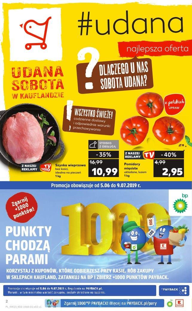 Gazetka promocyjna Kaufland do 12/06/2019 str.1