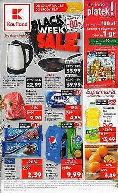 Kaufland gazetka - od 22/11/2018 do 28/11/2018