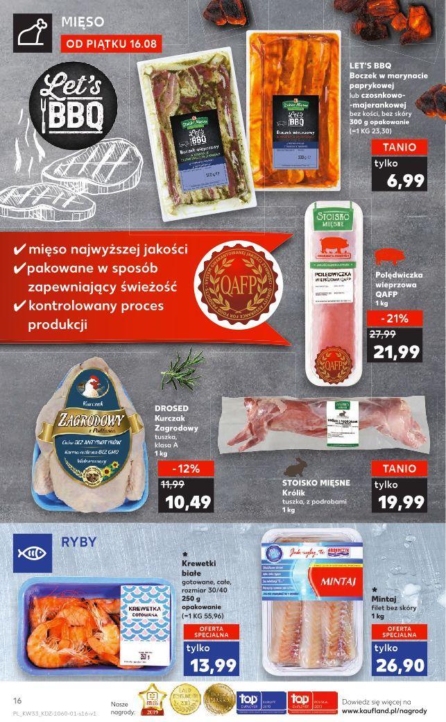 Gazetka promocyjna Kaufland do 21/08/2019 str.16