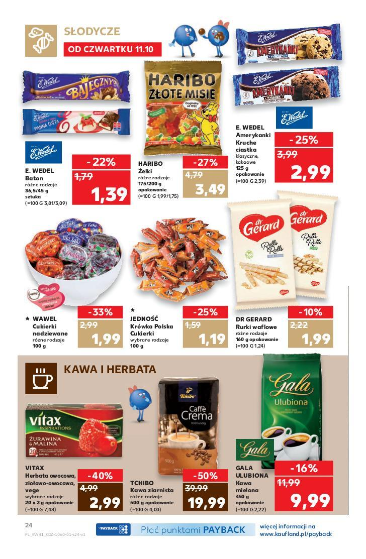 Gazetka promocyjna Kaufland do 17/10/2018 str.24