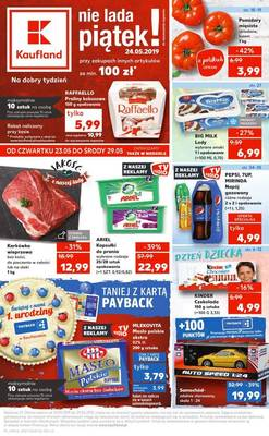 Kaufland gazetka  - od 23/05/2019 do 29/05/2019