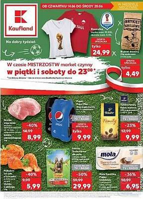 Kaufland gazetka - od 14/06/2018 do 20/06/2018