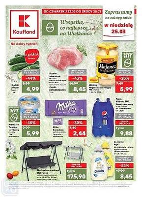 Kaufland gazetka - od 22/03/2018 do 28/03/2018