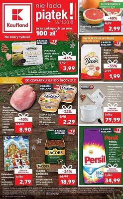 Kaufland gazetka - od 15/11/2018 do 21/11/2018