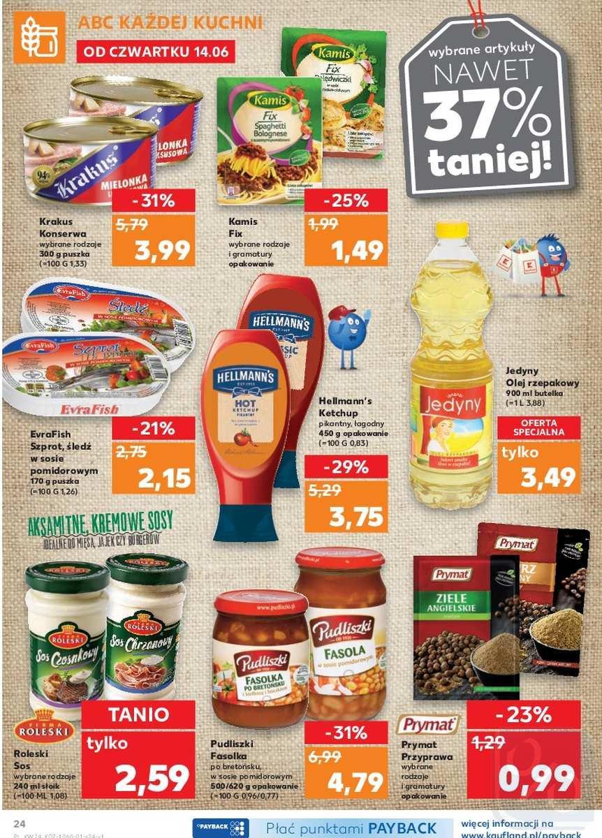 Gazetka promocyjna Kaufland do 20/06/2018 str.24