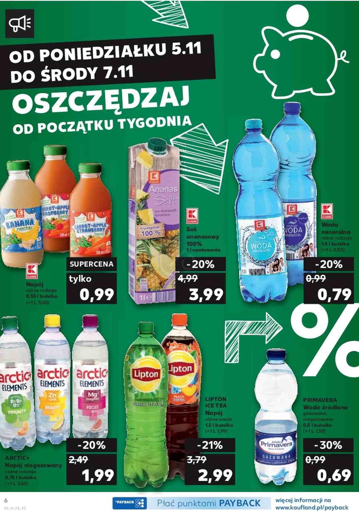 Gazetka promocyjna Kaufland do 07/11/2018 str.6