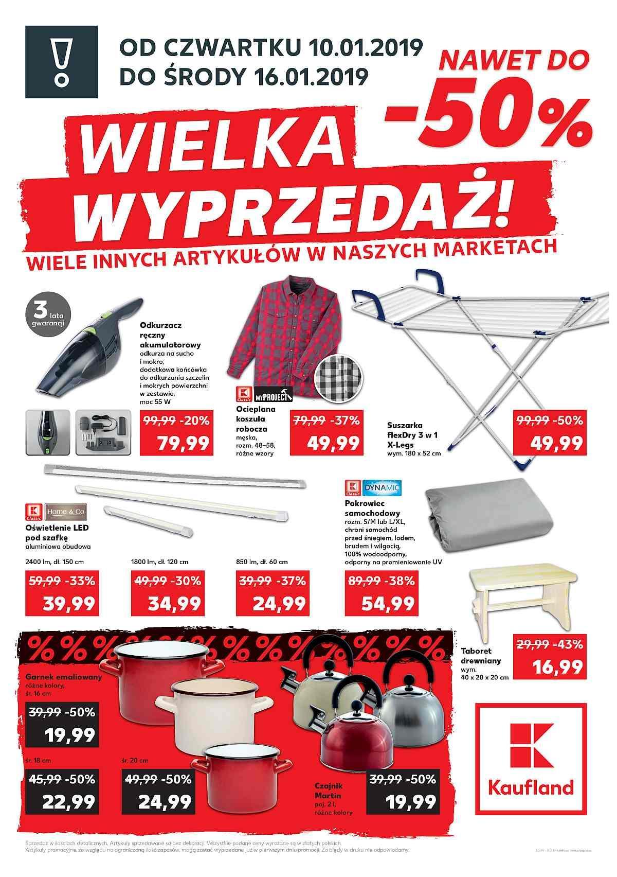 Gazetka promocyjna Kaufland do 16/01/2019 str.2