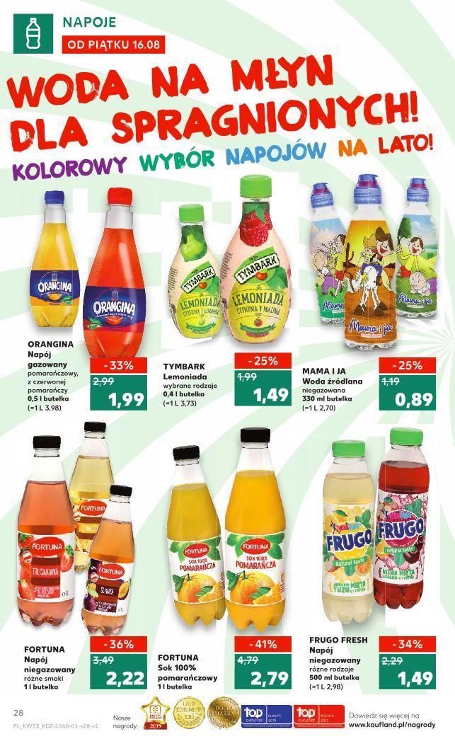 Gazetka promocyjna Kaufland do 21/08/2019 str.28
