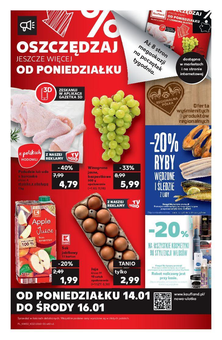 Gazetka promocyjna Kaufland do 16/01/2019 str.40