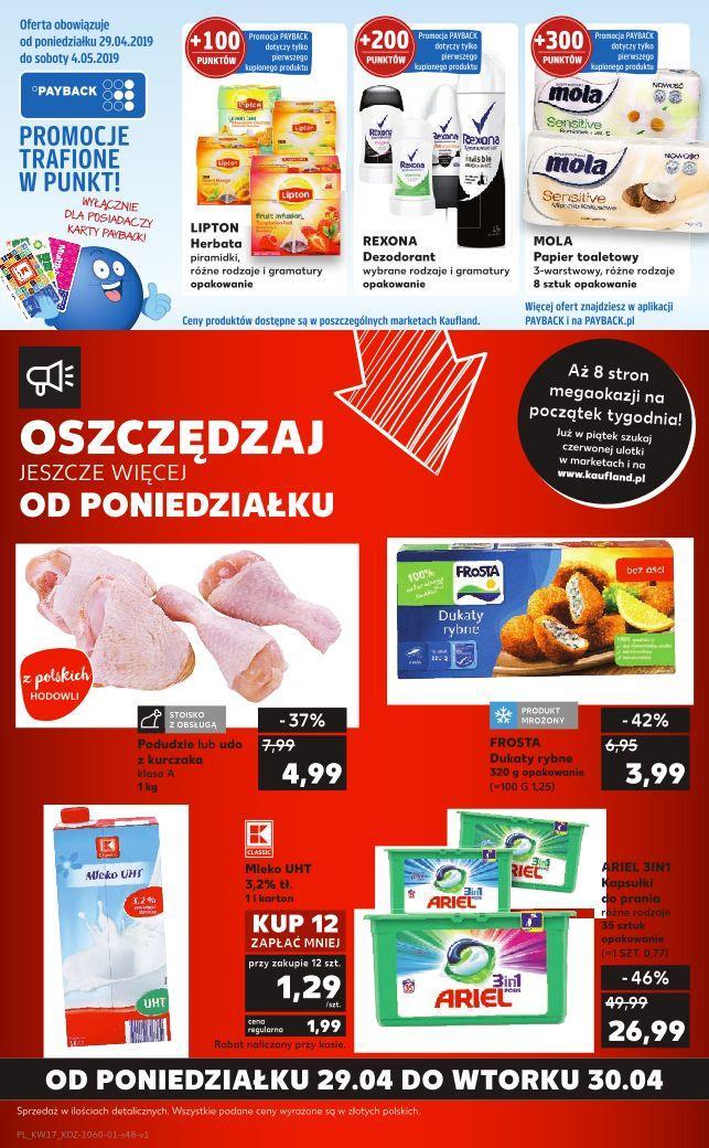 Gazetka promocyjna Kaufland do 30/04/2019 str.47