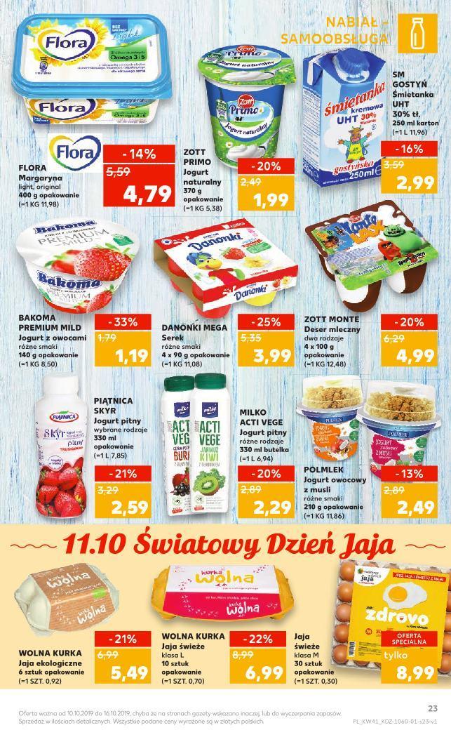 Gazetka promocyjna Kaufland do 16/10/2019 str.23